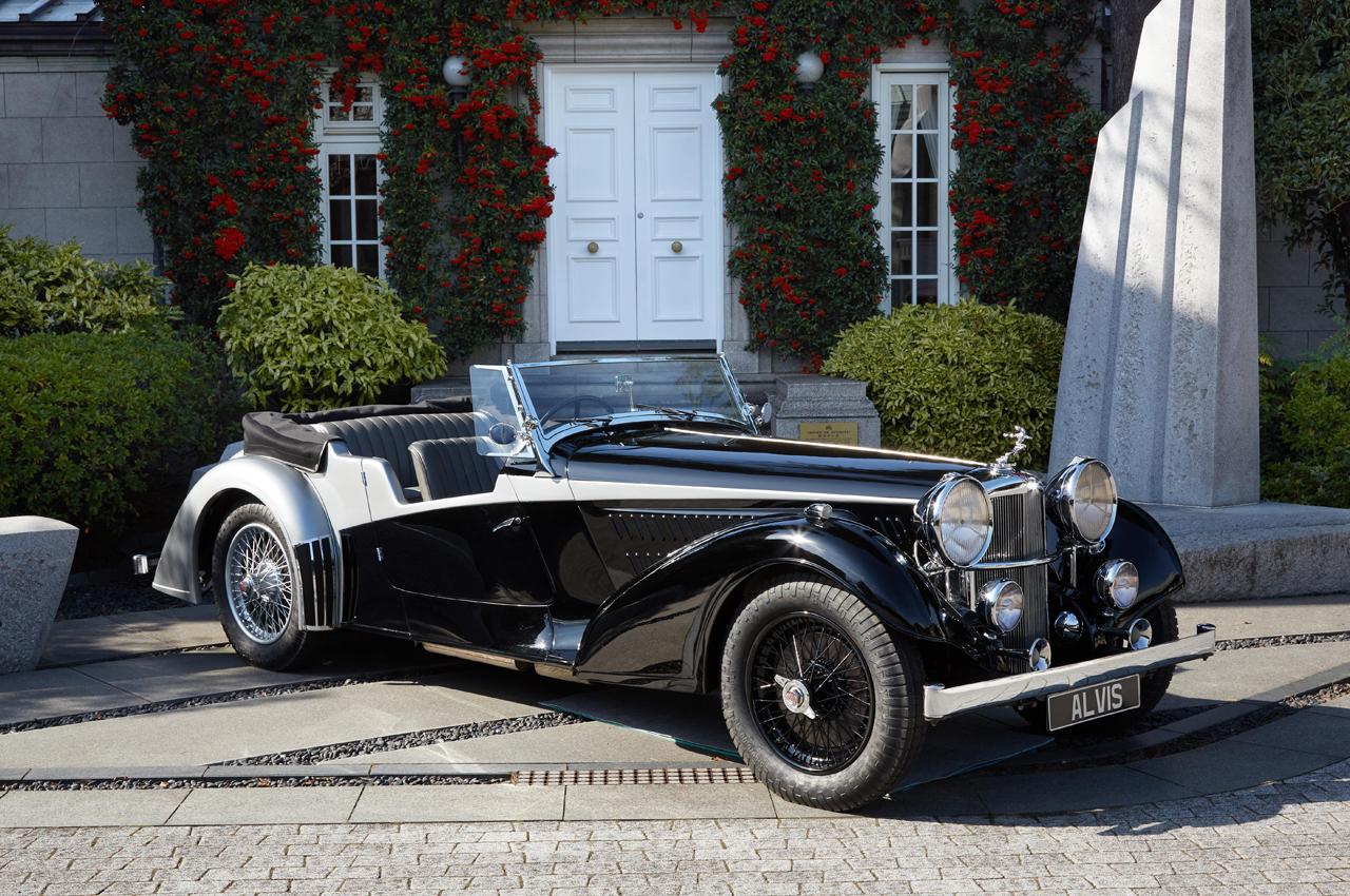 1937年型アルヴィス4.3リッター・ヴァンデン・プラス・ツアラー