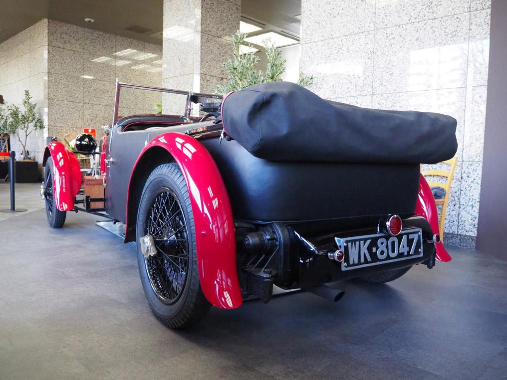 1928年型スーパーチャージャー・フロントホイール・ドライブ